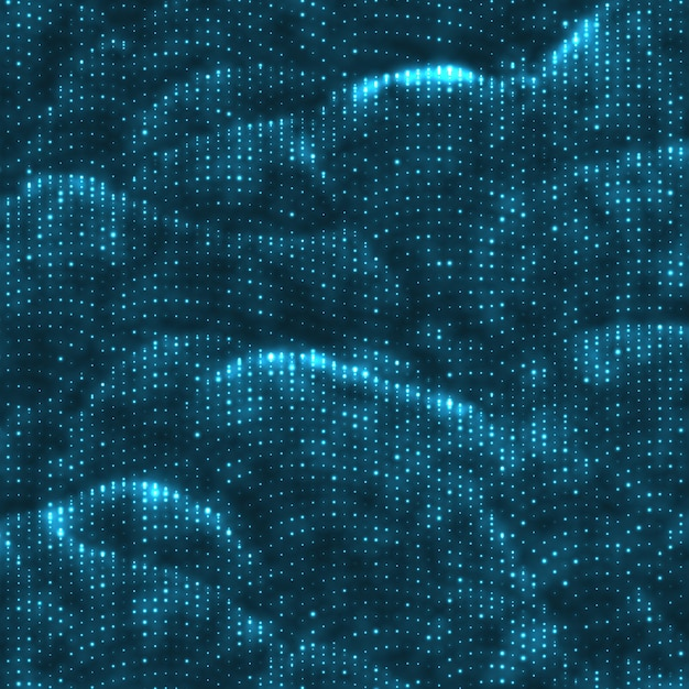 Абстрактный светящийся фон шумовой точки. Бесплатные векторы