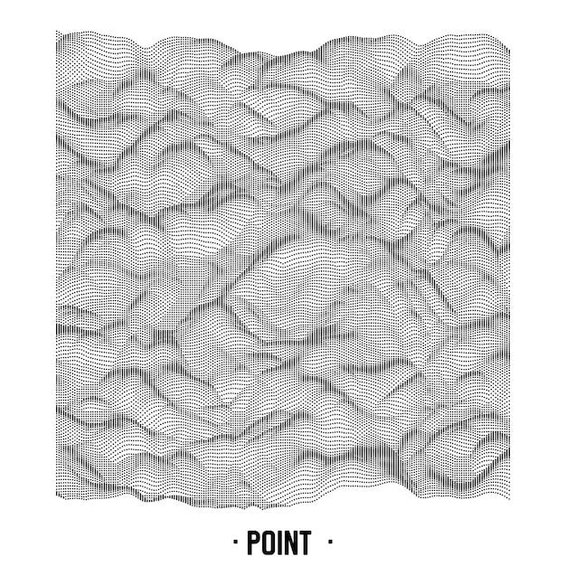 Абстрактная точка фоновый шум. Бесплатные векторы