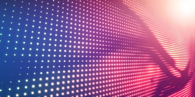 Абстрактный фон полутонов с блестящим светом Бесплатные векторы
