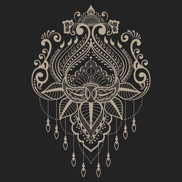 Иллюстрация абстрактного декоративного элемента Бесплатные векторы