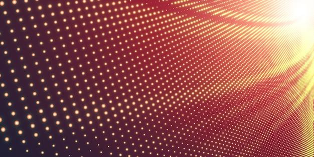 Иллюстрация полутонов с блестящим светом Бесплатные векторы