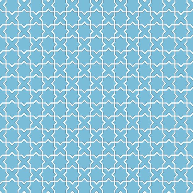ベクトル抽象的なイスラムの背景。民族のイスラム教徒の装飾品に基づいています。絡み合った紙の縞。カード、招待状などのためのエレガントな背景 無料ベクター
