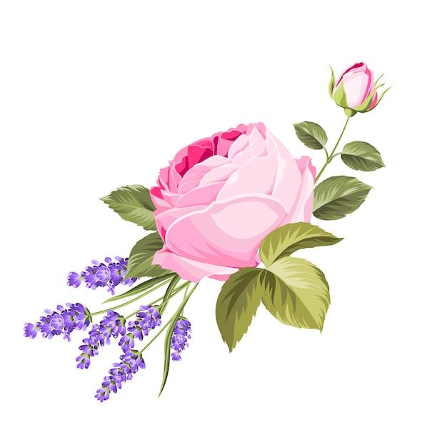 Цветущие весенние цветы. Premium векторы