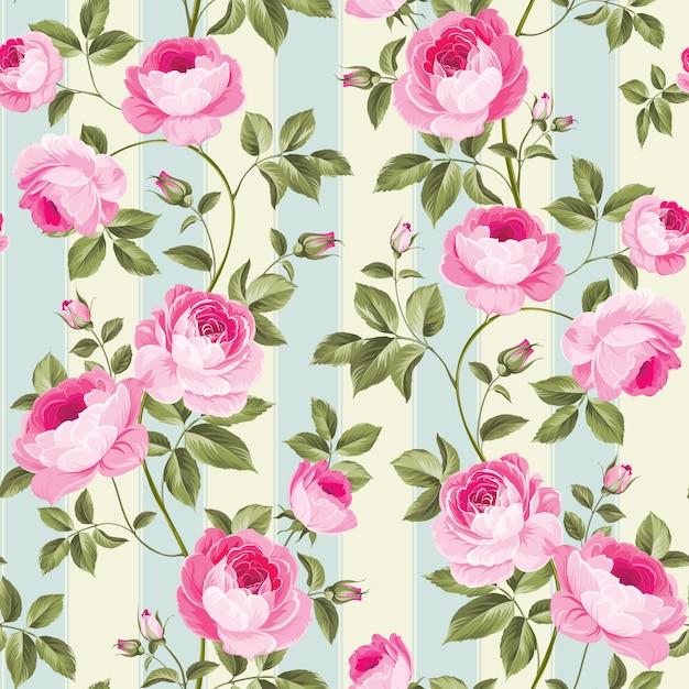 Роскошная розовая оберточная бумага. Premium векторы
