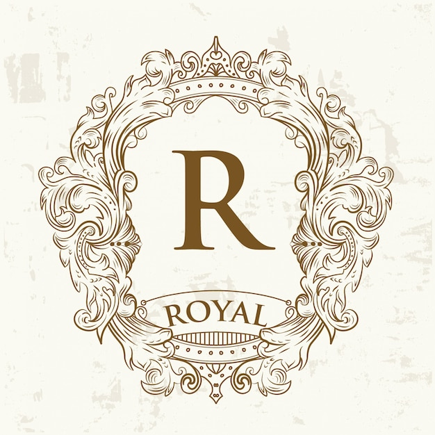 王室の紋章 Premiumベクター