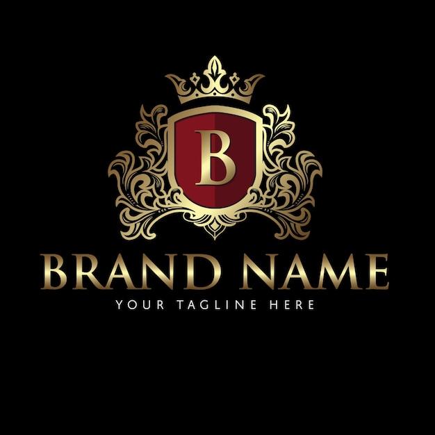 Пальто руки классическое элегантный логотип Premium векторы