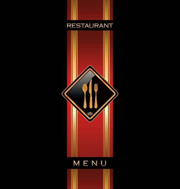 Дизайн меню ресторана Premium векторы