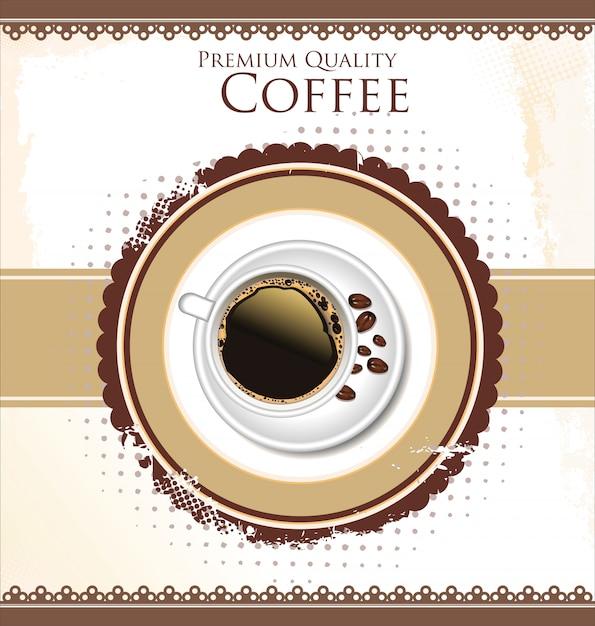 コーヒータイム Premiumベクター