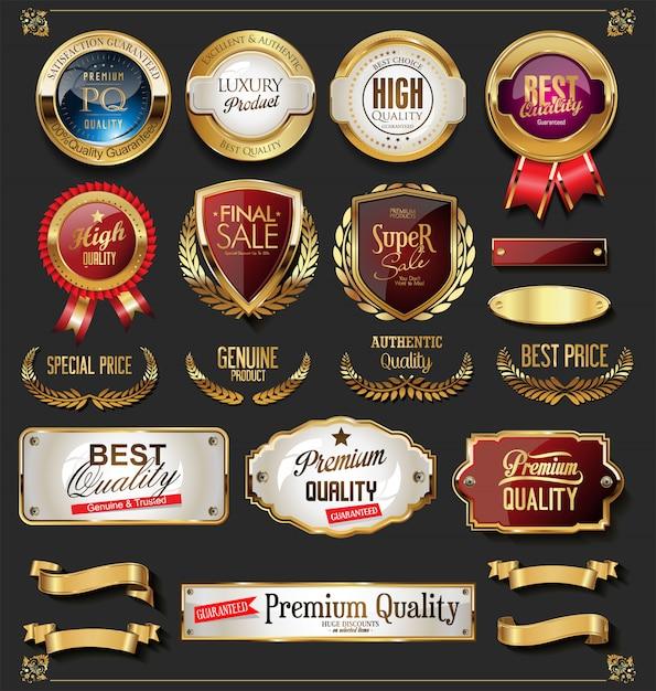 Сертификат Premium векторы