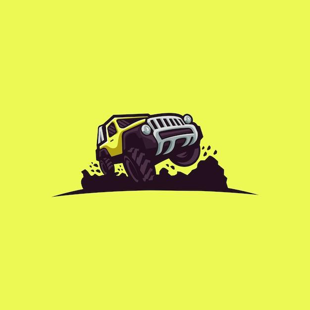 車のロゴ Premiumベクター