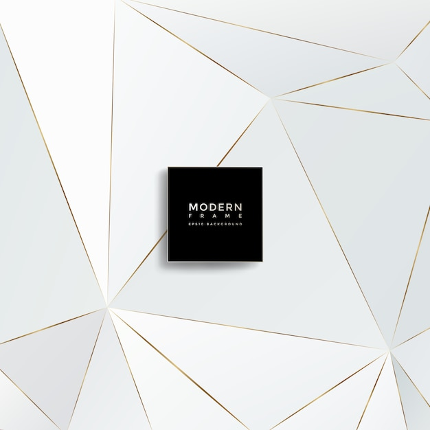 Современный фон, абстрактные геометрические фигуры Premium векторы