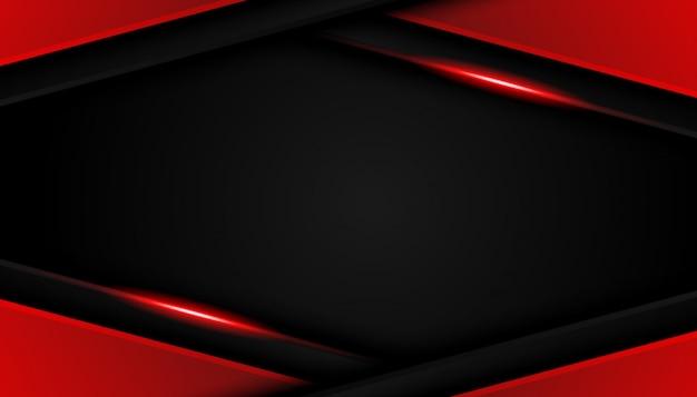 Роскошные ярко-красные линии современный спортивный фон Premium векторы