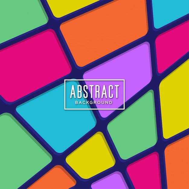 Цветной абстрактный фон Premium векторы