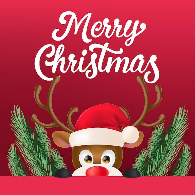 Рождественский дизайн флаера Бесплатные векторы