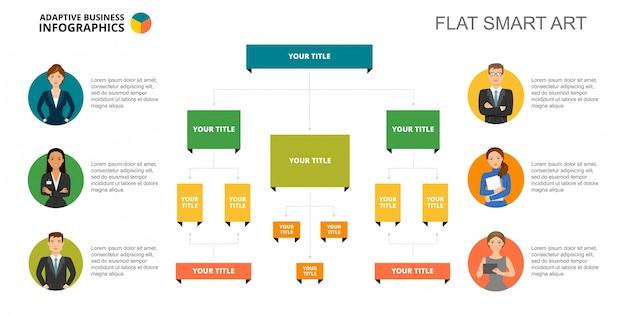 Шаблон шаблона дерева Бесплатные векторы