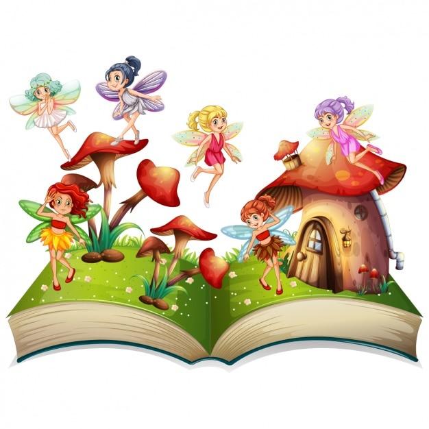 Картинка волшебная книга для детей на прозрачном фоне