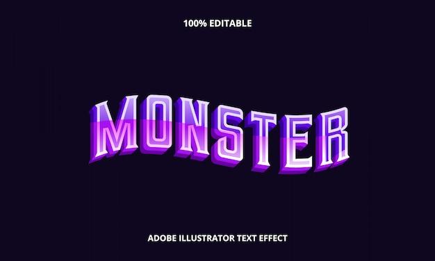 Фиолетовая волна текстовый эффект Premium векторы