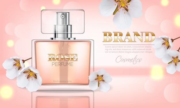 桜の香水 Premiumベクター
