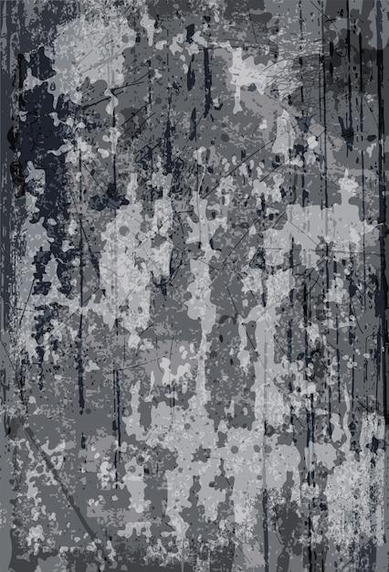 抽象的なグランジモダン。素朴なコンクリートの壁の装飾のテクスチャ。塗装済み完成品背景 Premiumベクター