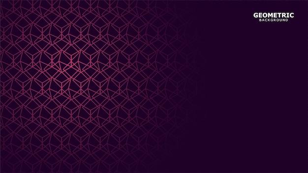 Темно-фиолетовый геометрический фон Premium векторы