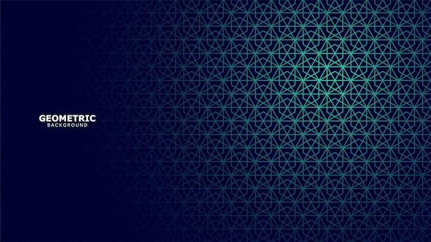 幾何学的な背景 Premiumベクター