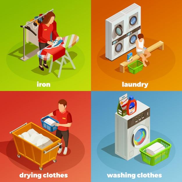 洗濯等尺性ドライクリーニング組成物 無料ベクター