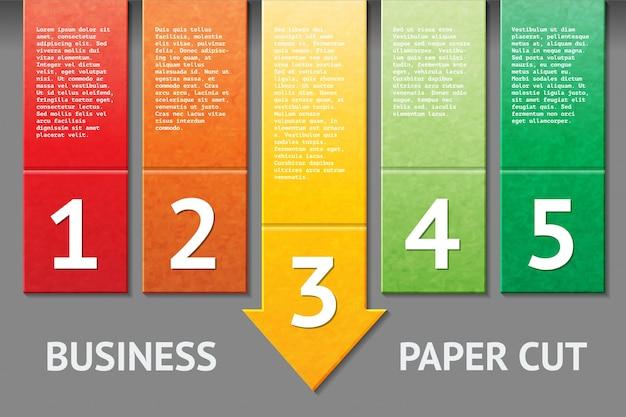 Шаблон деловой бумаги Бесплатные векторы