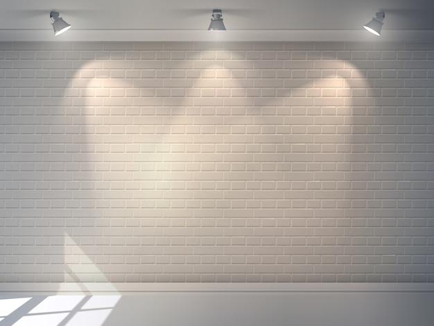 レンガの壁の現実的な 無料ベクター