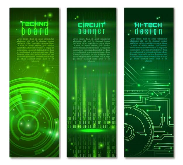 Комплект баннеров Бесплатные векторы