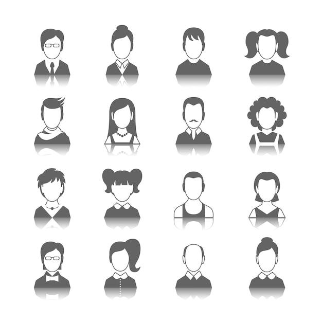 Иконки, аватары Бесплатные векторы