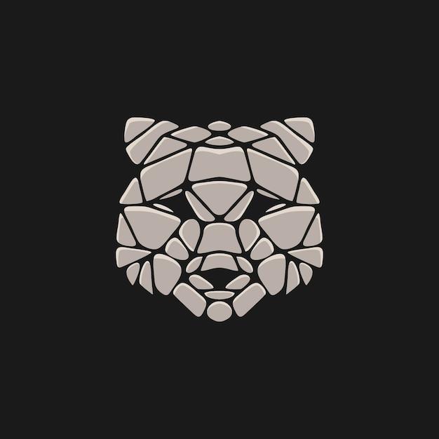 クマの石の図 Premiumベクター