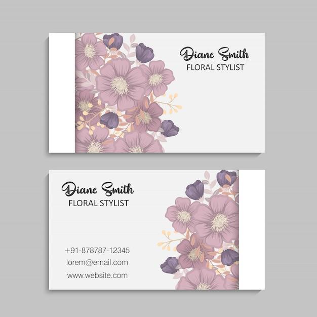 花の境界線の背景-ピンクの花の境界線 無料ベクター