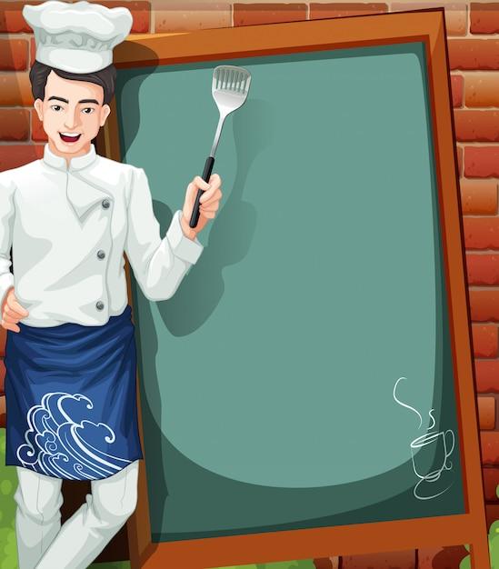 потолка пола плакат шеф повар на графике картинки бар слева, справа