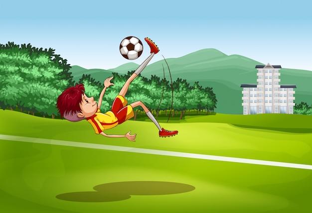 サッカー 無料ベクター