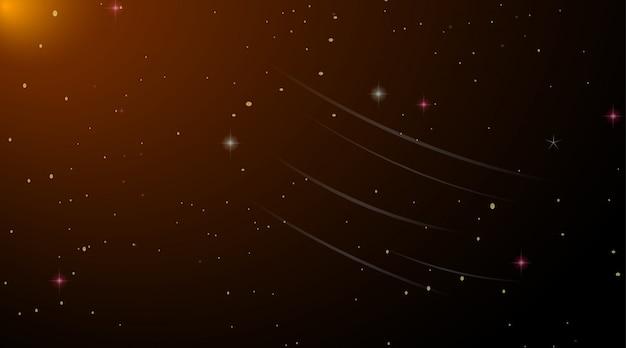 暗い宇宙銀河背景 無料ベクター