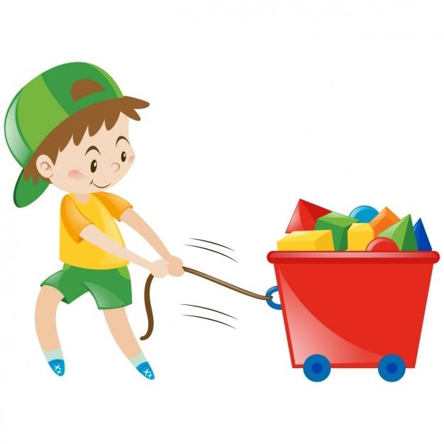 Картинка уборка игрушек для детей