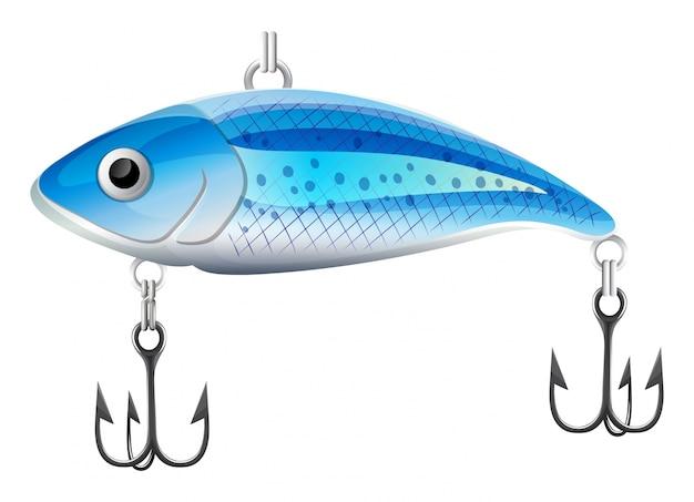 Ловит рыбу Бесплатные векторы