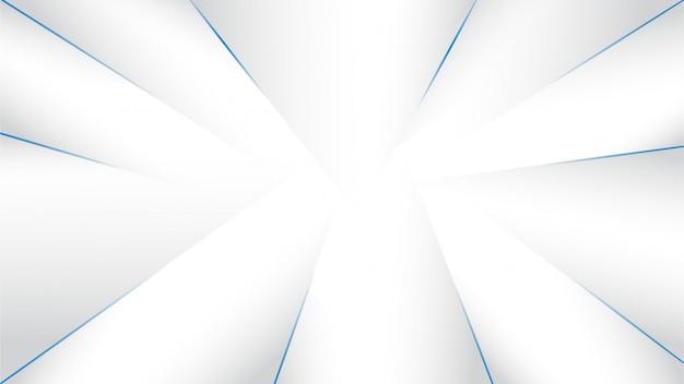 シャドウスタイルとグレーホワイトの抽象的な背景 Premiumベクター