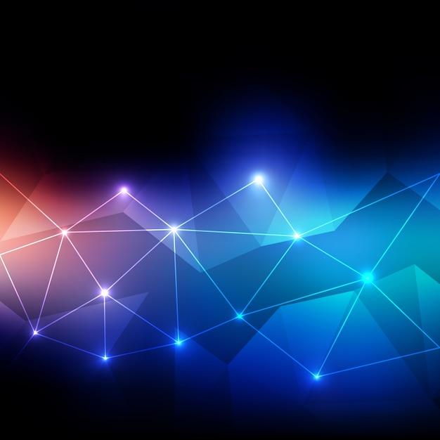 デジタル技術の背景 無料ベクター