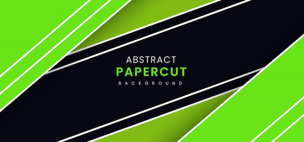 Абстрактный стильный фон бумаги вырезать Premium векторы