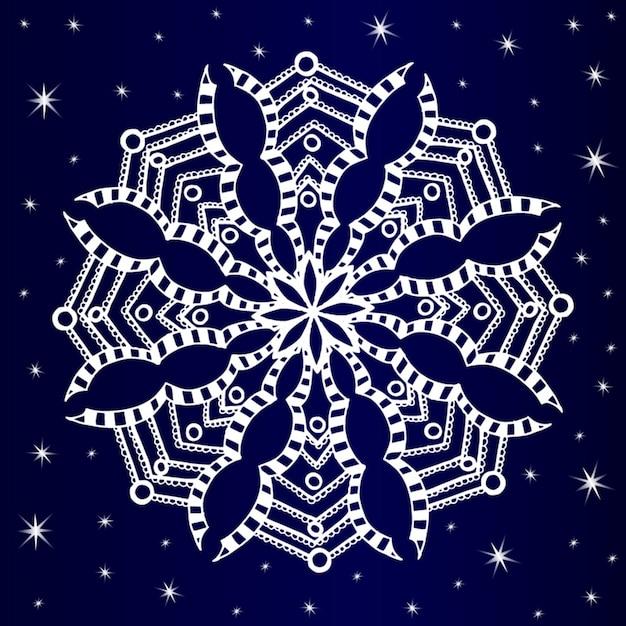 Образ снежинки картинки