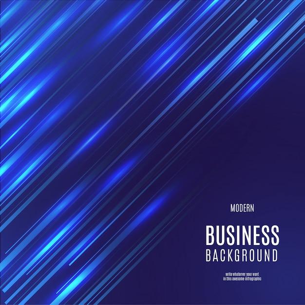 スピード効果を持つ近代的なビジネスの背景 無料ベクター