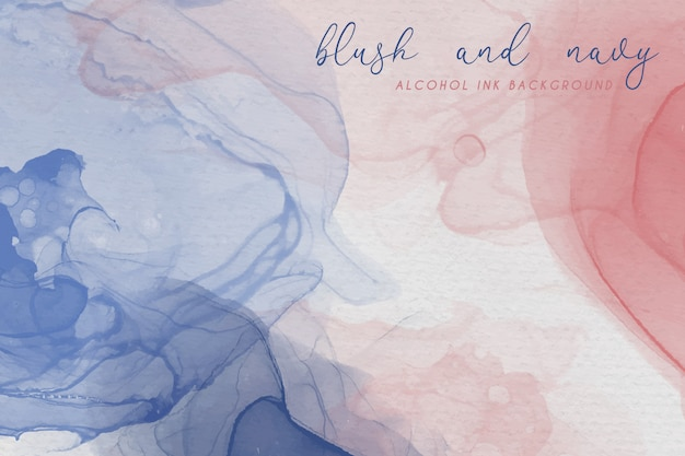 Алкоголь чернил фон в румянец и темно-цвета Бесплатные векторы