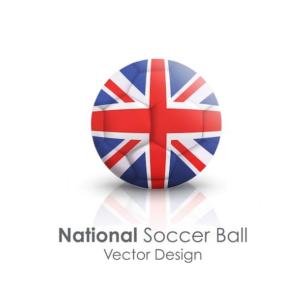 Отличный символ футбольной команды отдыха Бесплатные векторы