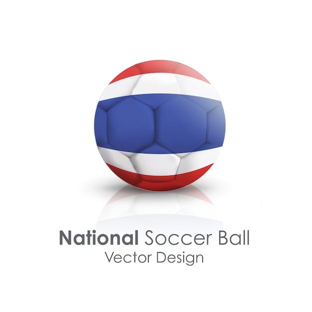 白い明るい旅行国際ボール 無料ベクター