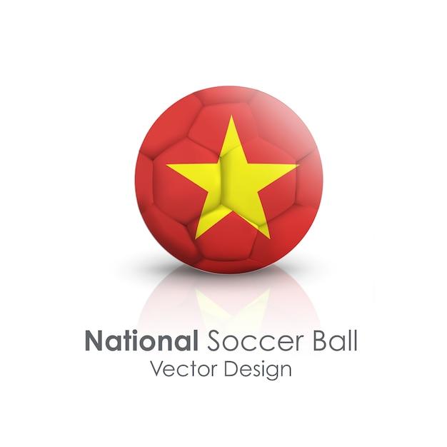 海外の明るい球サッカーのレクリエーション 無料ベクター