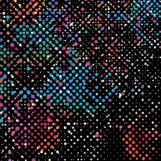 Картинки с разноцветными точками
