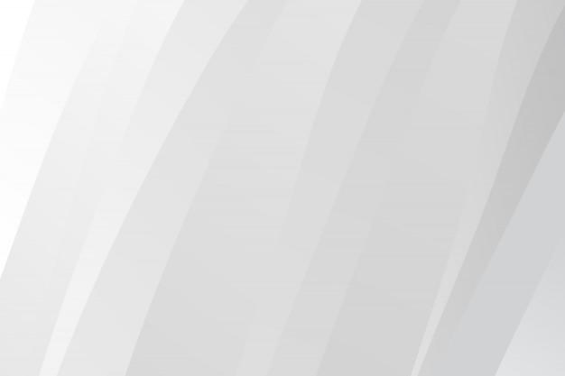 Абстрактный современный белый фон Premium векторы