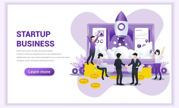 Начать бизнес-концепцию с бизнесменами пришли к соглашению и завершили сделку рукопожатием. Premium векторы
