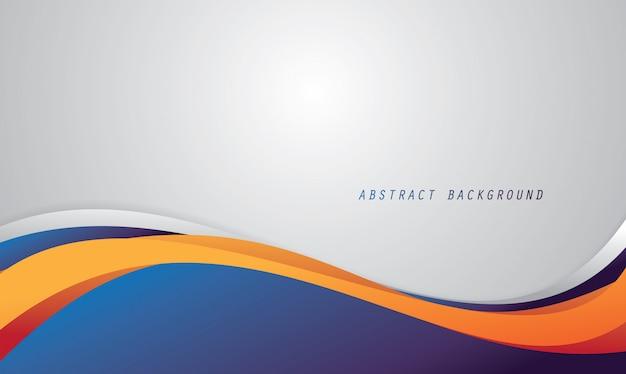 流体の色と抽象的な背景 Premiumベクター